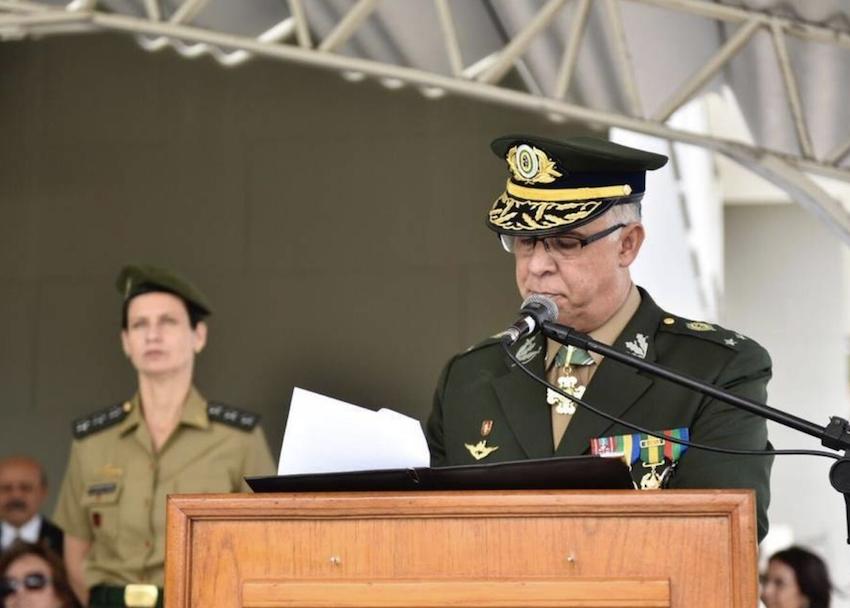 General representou o Exército Brasileiro na missão no Líbano