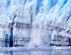 """Calfing Glacier - Global Warming?"" by Len Radin is licensed under CC BY-NC-SA 2.0"