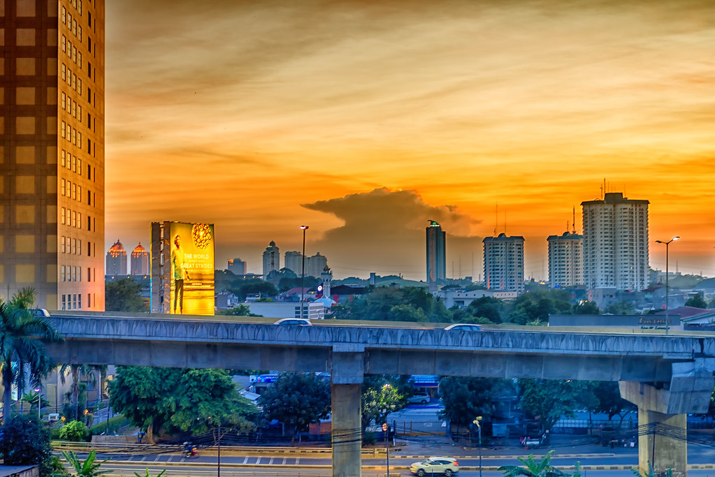 """Jakarta, Indonesia - Late afternoon"" by cloud.shepherd is licensed under CC BY 2.0"
