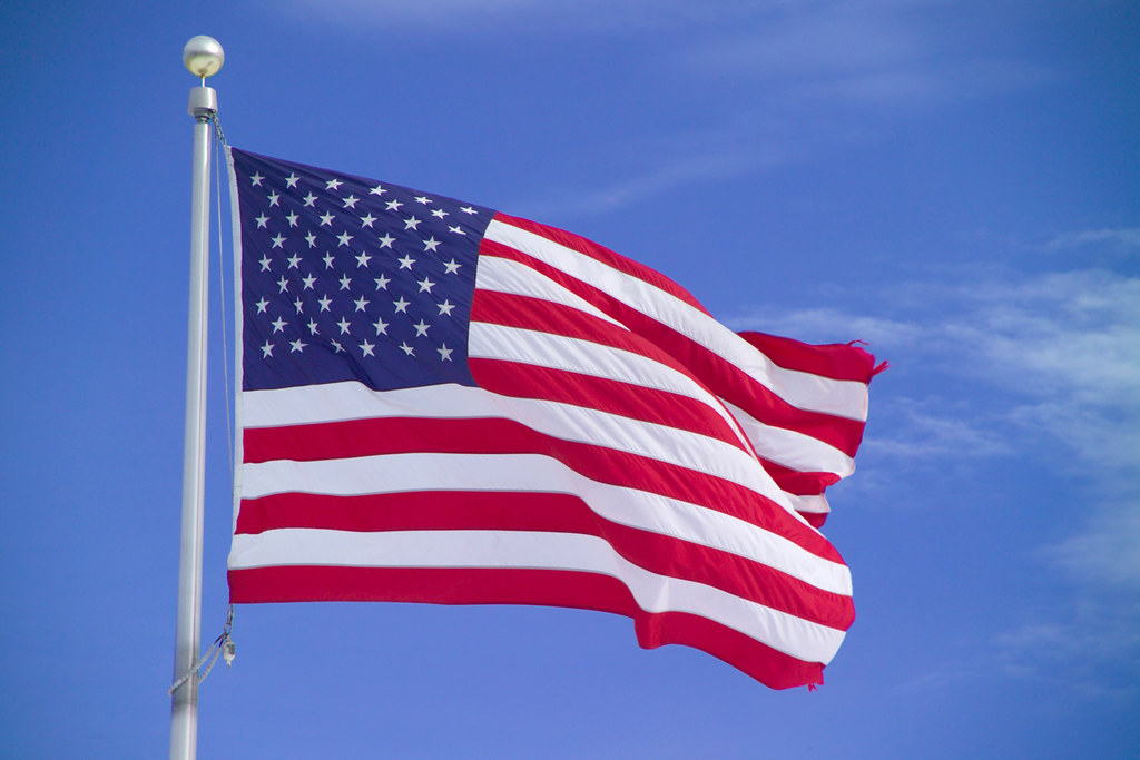 """USA Flag"" by Ian Britton is licensed under CC BY-NC 2.0"